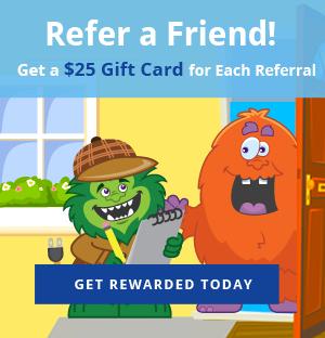 Energy Monster refer a friend program