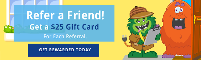 Energy Monster refer a friend program