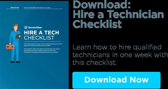 Download: Hire a Tech Checklist