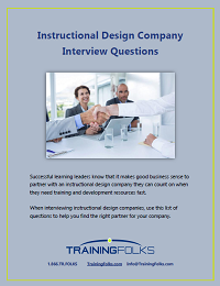 Interview Questions Instructional Design Companies