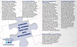 5 learning objectives microlearning