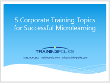 5 Corporate Training Topics Microlearning