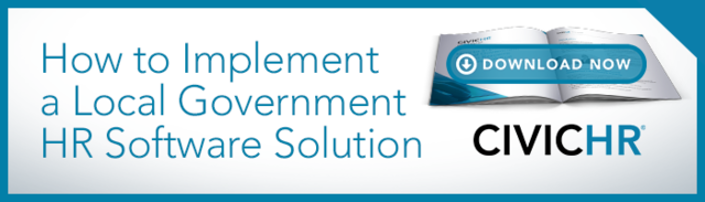 How to Implement a Local Government HR Software Solution