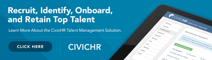 Learn more about the CivicHR Talent Management solution from CivicPlus