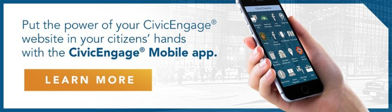 Download the CivicEngage Mobile Fact Sheet
