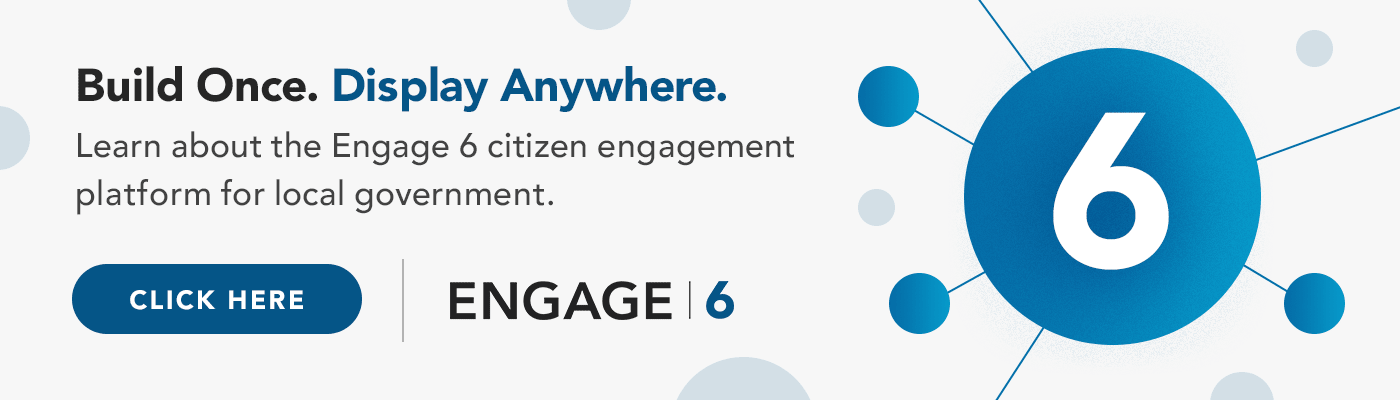 Engage 6 Citizen Engagement Platform