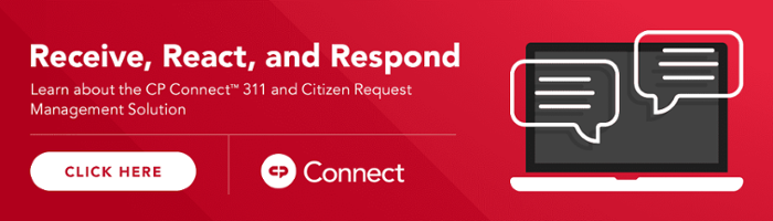 CP Connect 311 and citizen and request management solution
