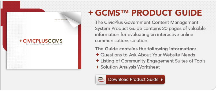 CivicPlus Product Guide