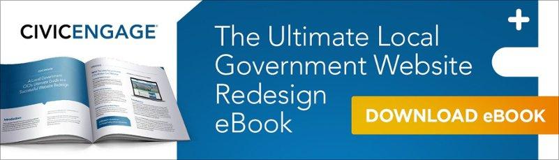 Local Government Website Redesign eBook
