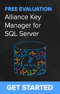 Alliance Key Manager for SQL Server