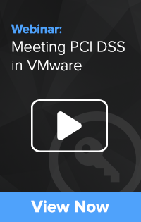Meeting PCI DSS in VMware