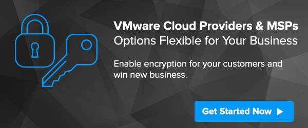 Encryption Key Management for VMware Cloud Providers