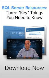 SQL Server Encryption Key Management Resources