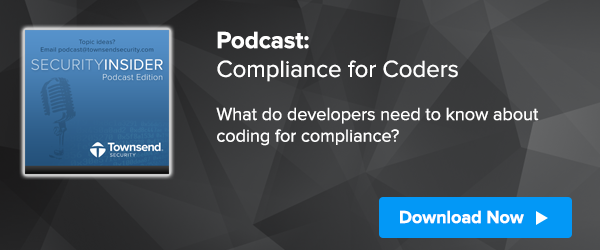 Request the Podcast: Compliance for Coders
