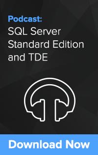 SQL Server Standard Edition & TDE
