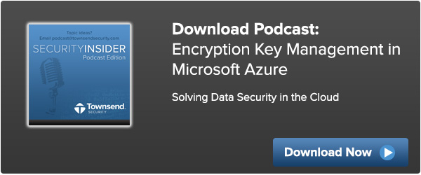 Encryption Key Management for Windows Azure