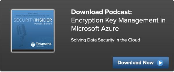 Encryption Key Management for Windows Azure