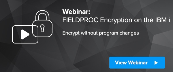 FIELDPROC Encryption IBM i