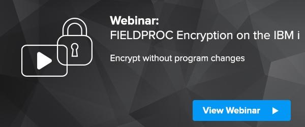 FIELDPROC Encryption IBM i