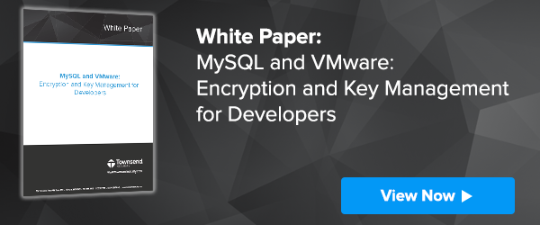 MySQL and VMware Encryption for Developers
