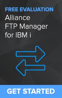 Secure Managed File Transfer for IBM i