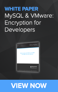 MySQL and VMware Encryption