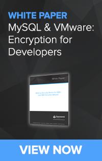 MySQL and VMware Encryption