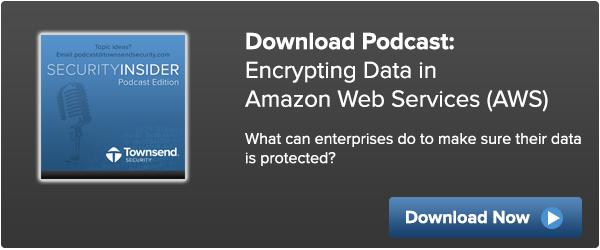 Encrypting Data in AWS