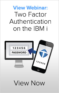 Two Factor Authentication on the IBM i