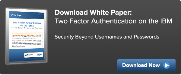 White Paper Two Factor Authentication on the IBM i