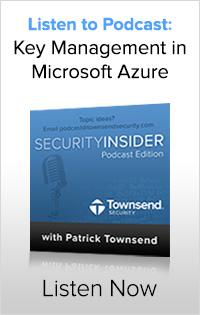 Encryption Key Management in Windows Azure