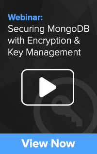 Securing MongoDB with Encryption and Key Management