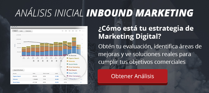Evaluación Gratis de Inbound Marketing