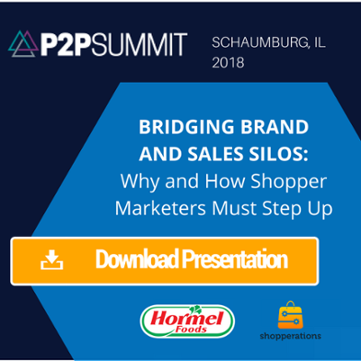 P2P Summit Shopper Marketing