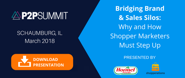 P2P Summit CTA Why And How Shopper Marketing Must Step Up