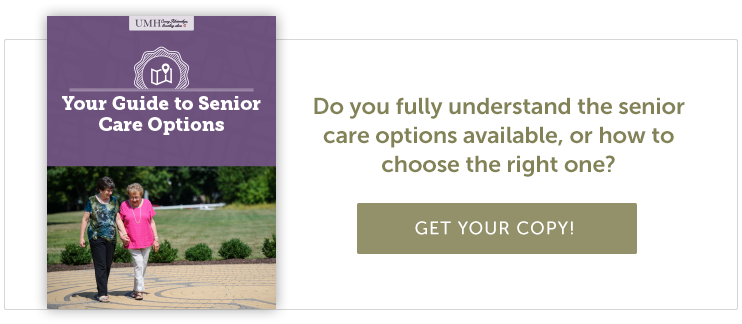 guide to senior care options