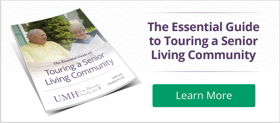 Touring Assisted Living Community Guide