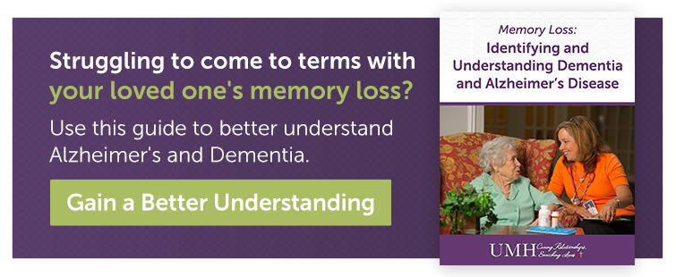 Alzheimer and dementia