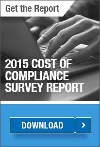 2015 Cost of Compliance Report