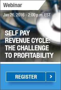 Webinar - Self Pay in the Revenue Cycle