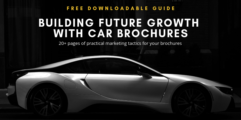 Banner for eBook Building Future Growth with Car Brochures
