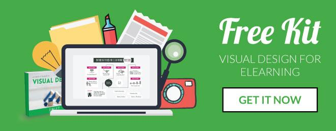 visual design elearning kit