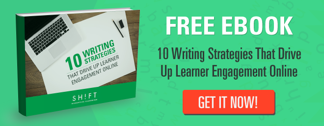 writing tips for elearning
