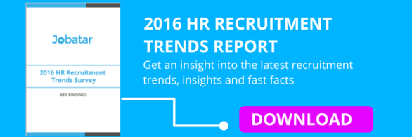2016 HR Recruitment Trends Report