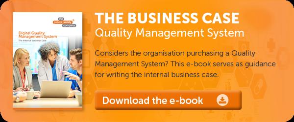 Business case Quality & Risk Management System