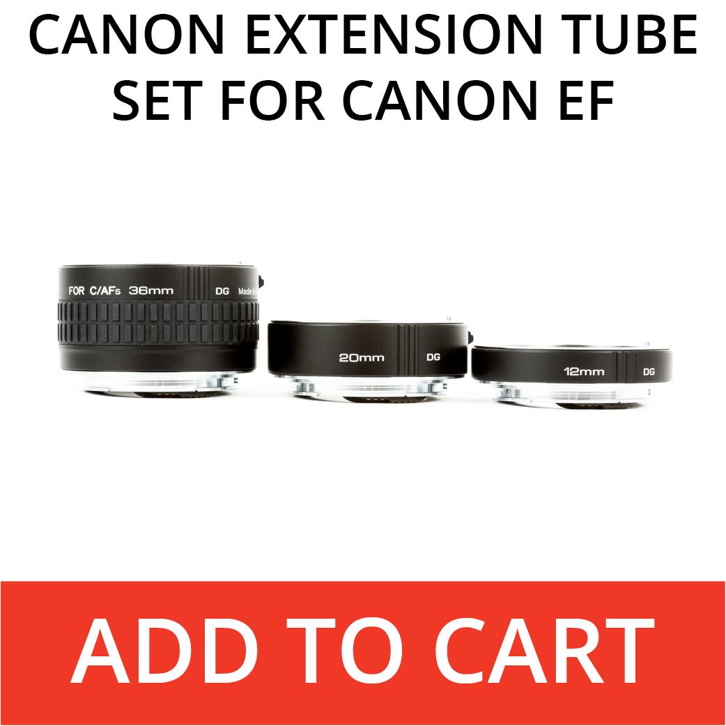Canon Kenko Extension Tubes