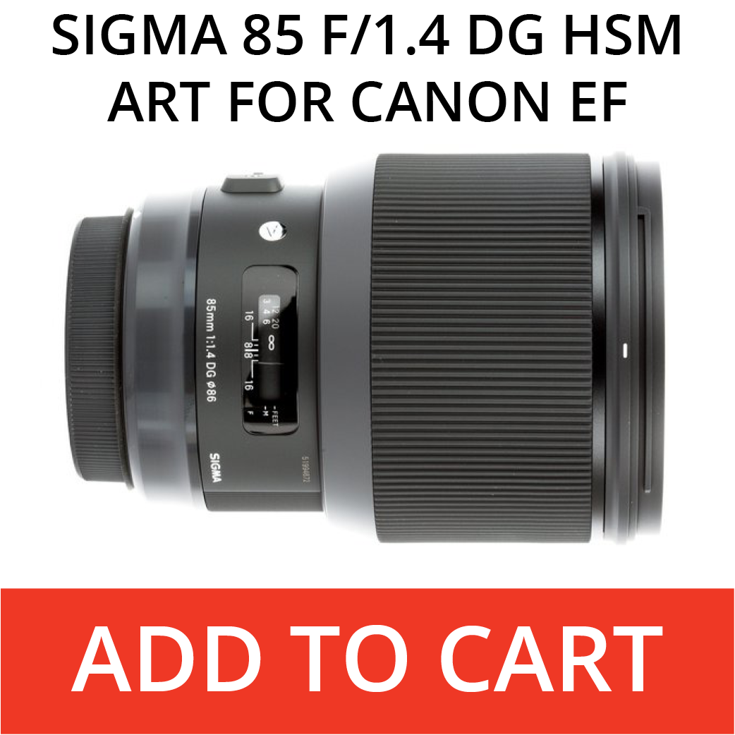 Sigma 85 Art for Canon