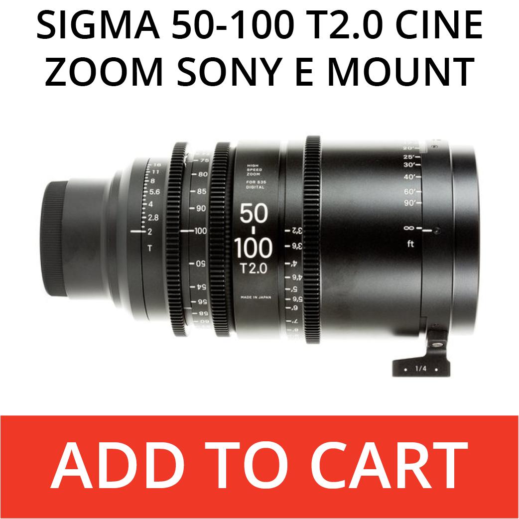 Sigma 50-100 E Mount