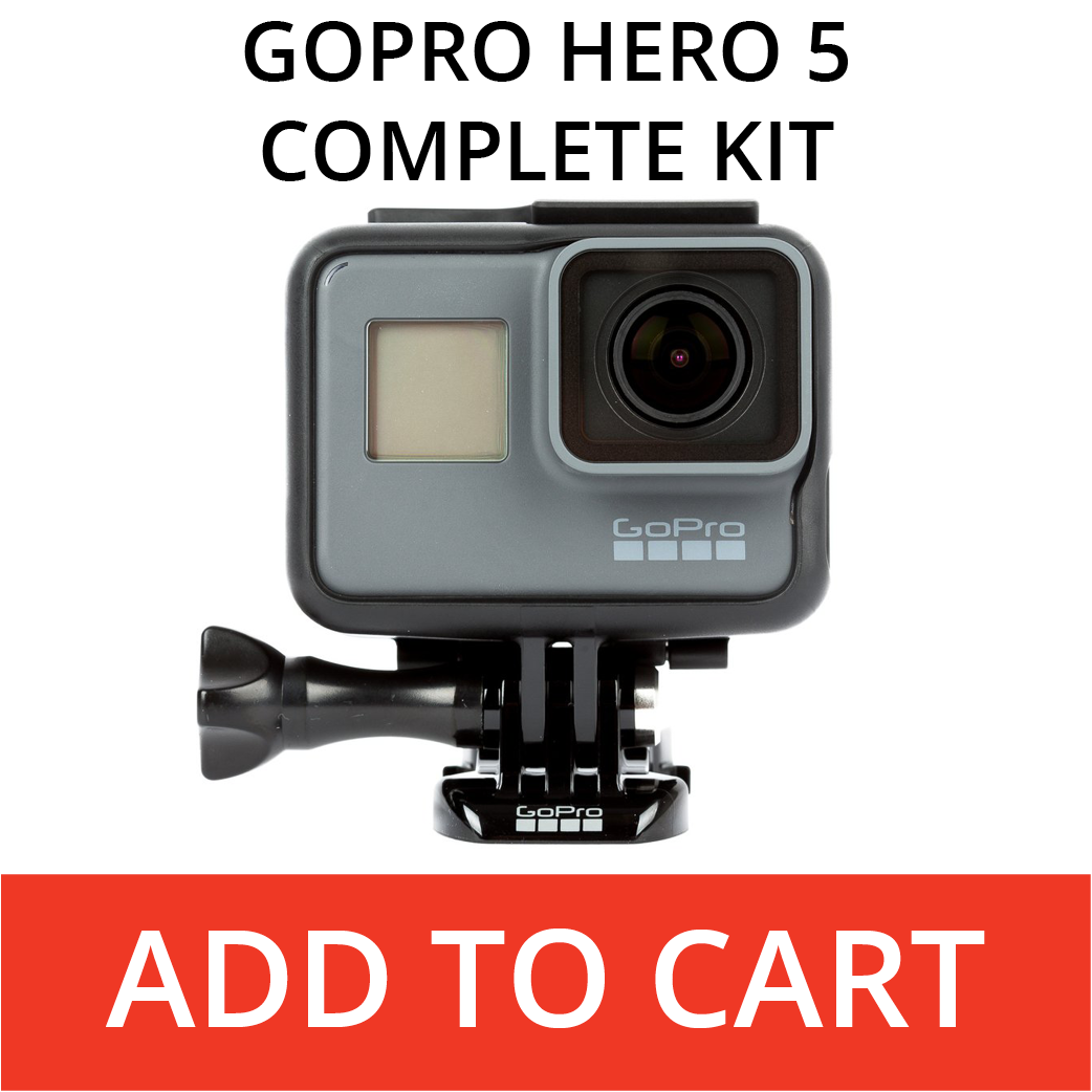 Rent A GoPro Hero 5 Complete Kit