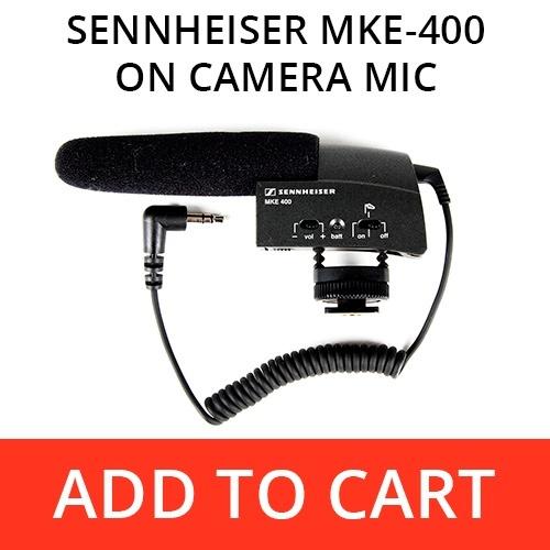 Sennheiser MKE-400 On-Camera Shotgun Mic